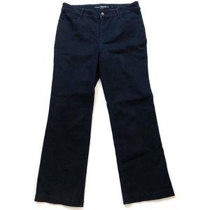 Chico's the Platinum Denim Trouser Stretch Jeans